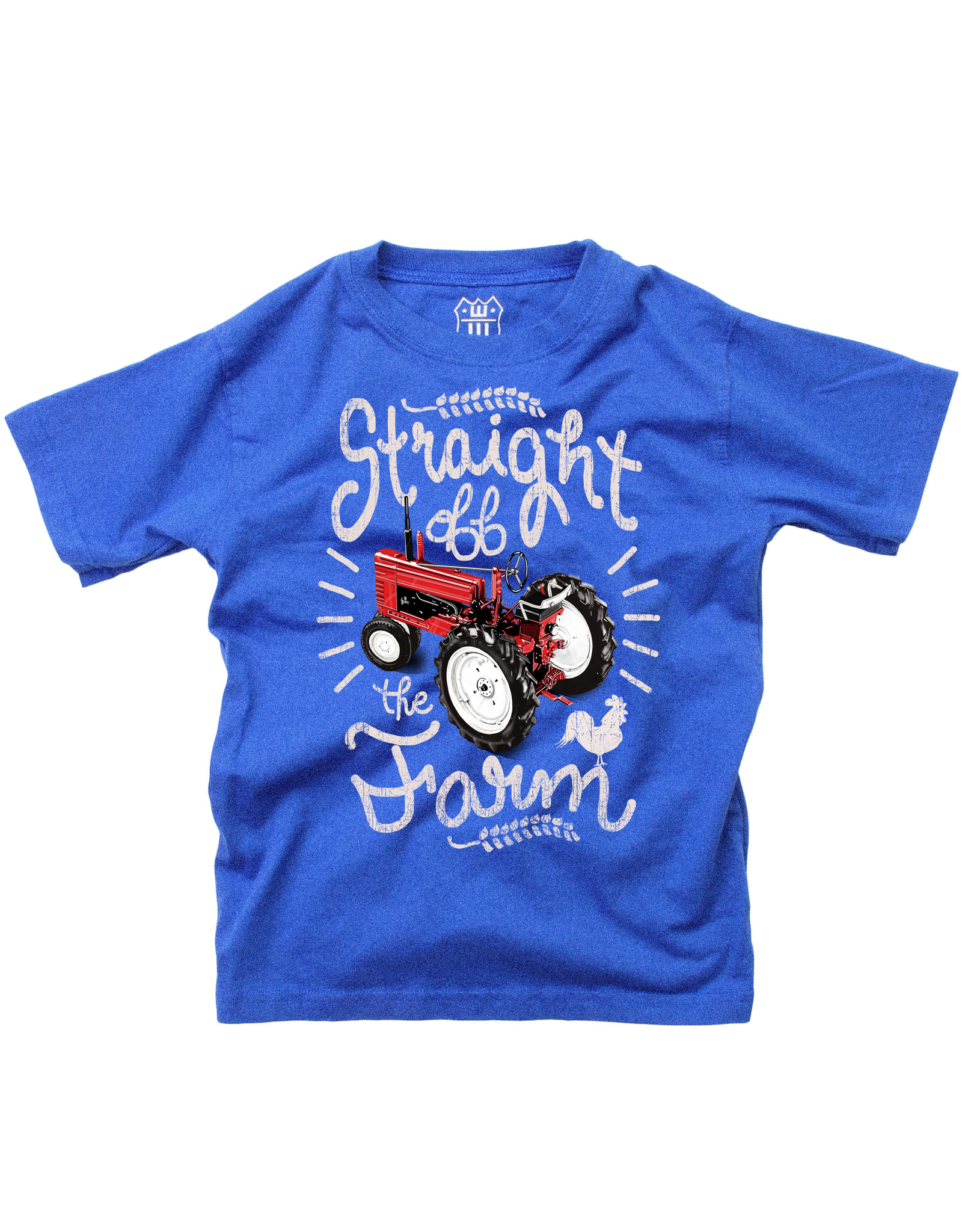 Wes & Willy Short Sleeve Straight off the Farm Tee