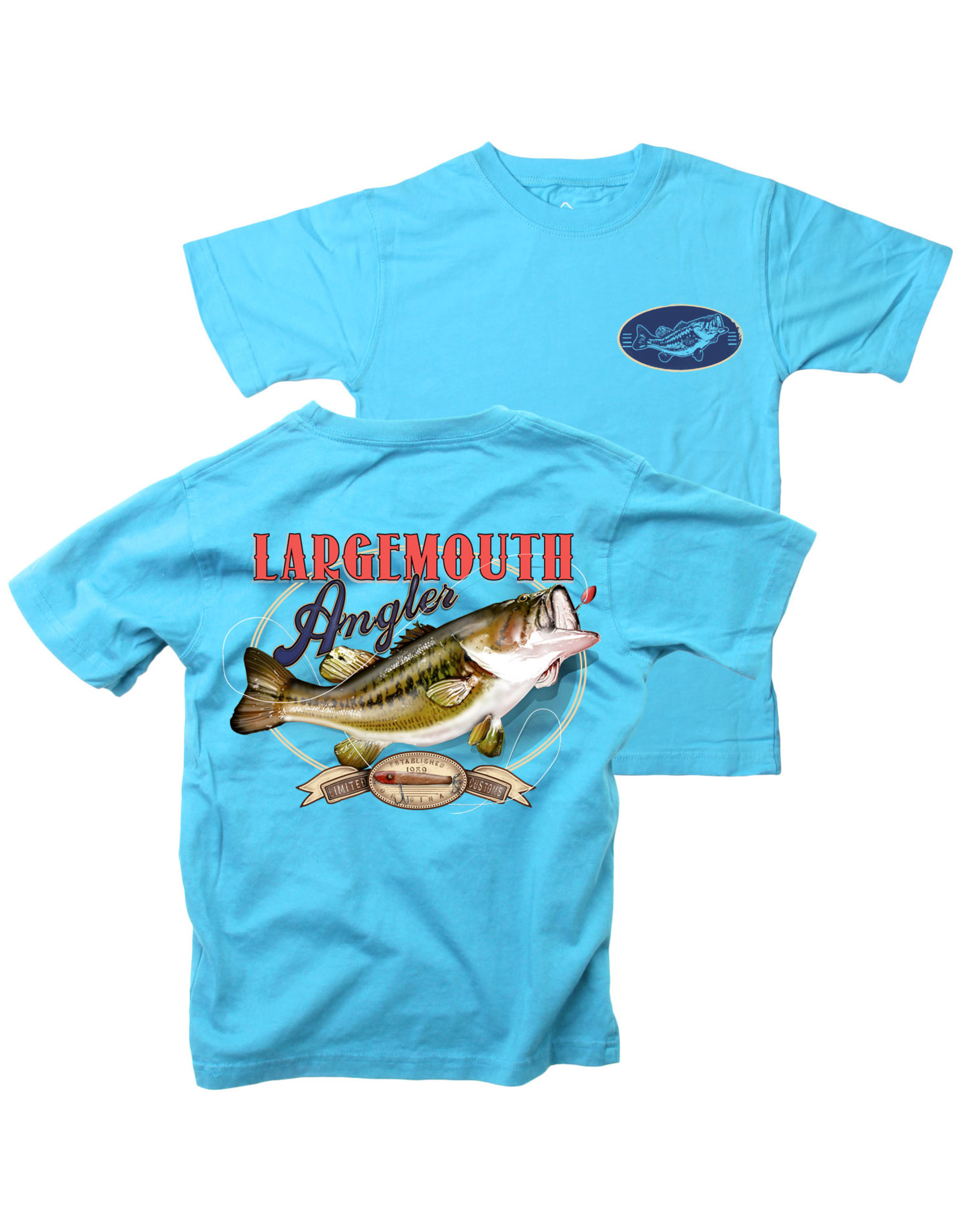 Wes & Willy Short Sleeve Largemouth Angler Tee