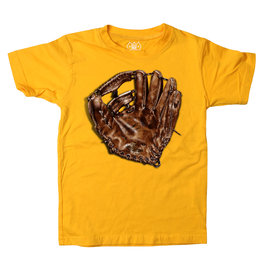 Wes & Willy Short Sleeve Baseball Glove Tee
