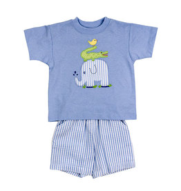 The Bailey Boys Springtime Friends Boys short Set