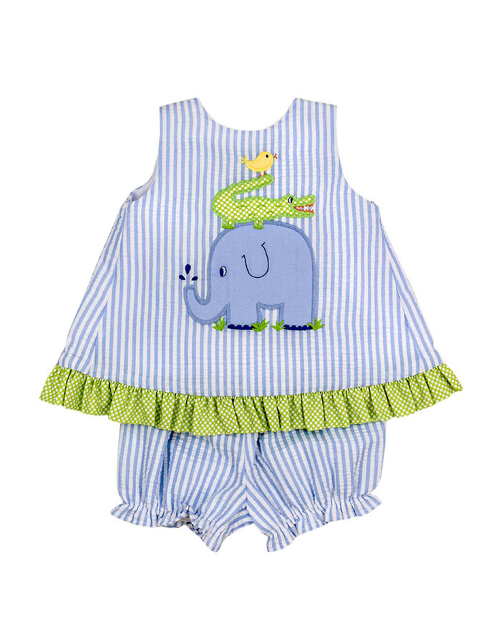 The Bailey Boys Springtime Friends Angel Dress With Bloomers