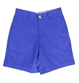 J Bailey Navy Twill Shorts