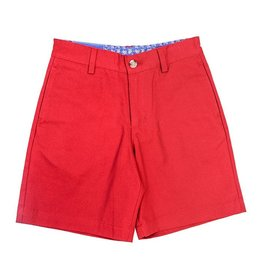 J Bailey Crimson Twill Short
