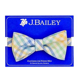 J Bailey Pier Plaid Bow Tie