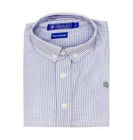 J Bailey Light Blue WindowPane Button Down Shirt