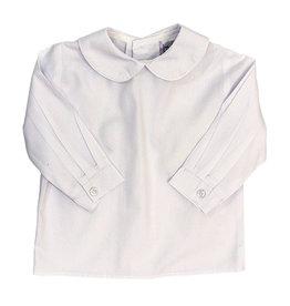 The Bailey Boys Longsleeve Button Back Peter Pan Collar Shirt