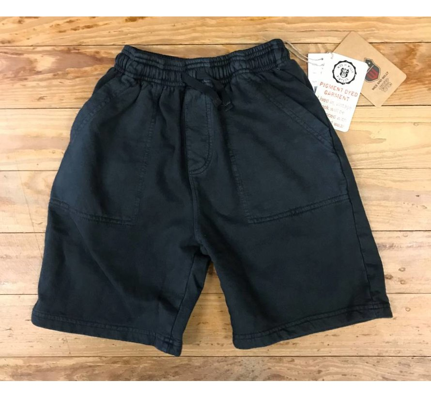 Pirate Black Pigment Dyed Organic Cotton Short