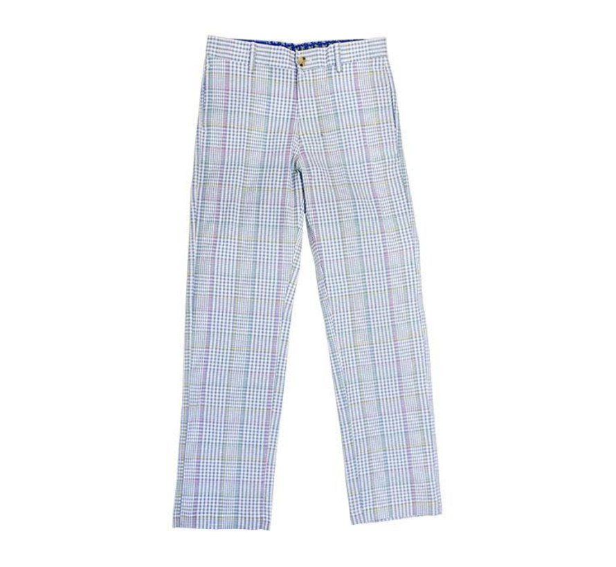 Champ Pant in River Plaid