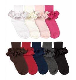 Misty Ruffle Turn Cuff Sock (2143)