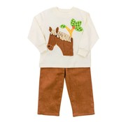 The Bailey Boys Horse Pants Set