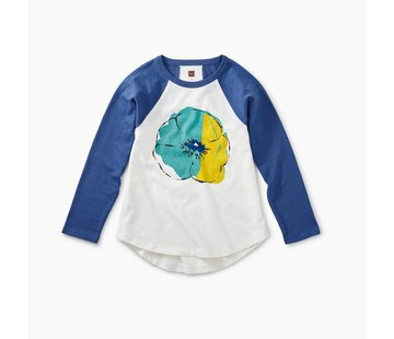 Tea Collection Painted Flower Graphic Tee