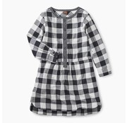 Tea Collection Checkered Plaid Shirtdress
