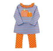 The Bailey Boys Pumpkin Tunic Legging Set