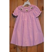 Banana Split High Cotton Smocked Bishop Dress