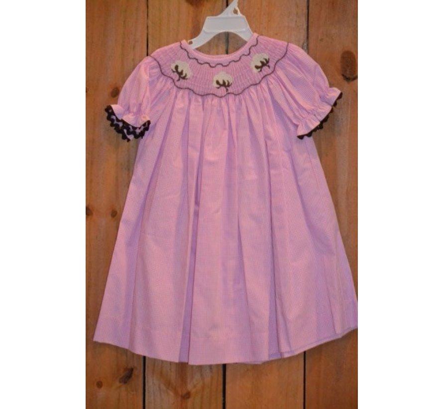 High Cotton Smocked Bishop Dress