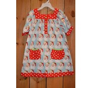 Banana Split Dear Santa Yoke Dress with Pockets