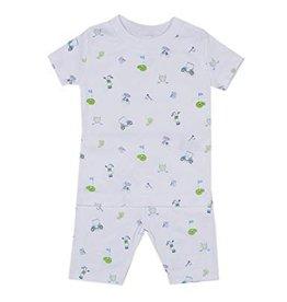 Kissy Kissy Daddy's Caddy Print Short Pajama Set