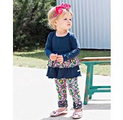 RuffleButts Day at the Park Ruffle Leggings Set