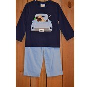 Three Sisters Duck Hunting Applique Boys T-shirt and Pants
