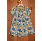 Three Sisters Flower Burst Smocked Geo Bishop
