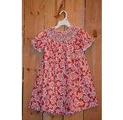 Tis the Season Smocked Geo Bishop Dress