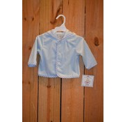 Three Sisters Boys Light Blue Fleece Hooded Jacket