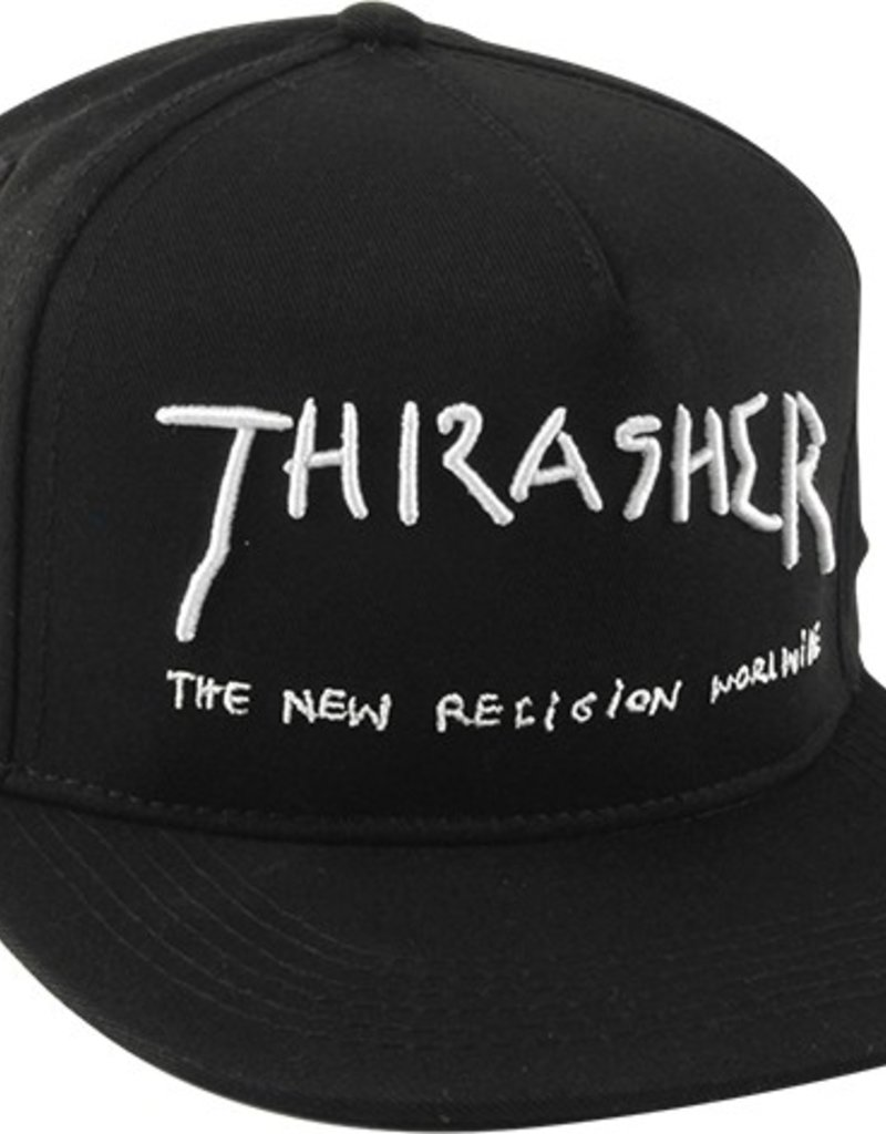 1ab8e3e7f62 Thrasher Magazine THRASHER NEW RELIGION HAT ADJ - BLACK - Van s ...