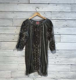 Johnny Was Nomi Velvet Peasant Tunic Dress
