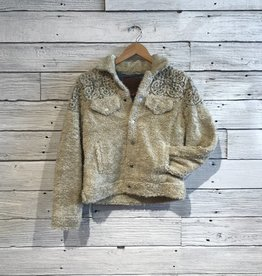 Lucky Brand Sherpa Tomboy Trucker Jacket