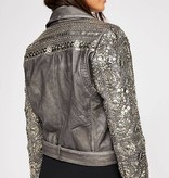 Free People Circle Embellished Moto [Special Order Item]