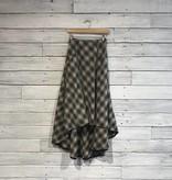 Free People North West Plaid Skirt