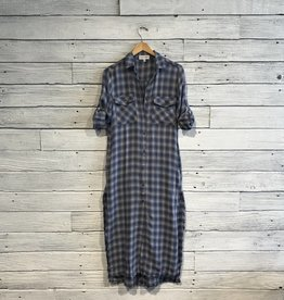 Bella Dahl Maxi Duster Shirt Dress
