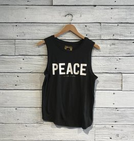 Spiritual Gangster Peace Muscle Tank