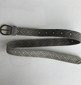 Diamond Suede Belt