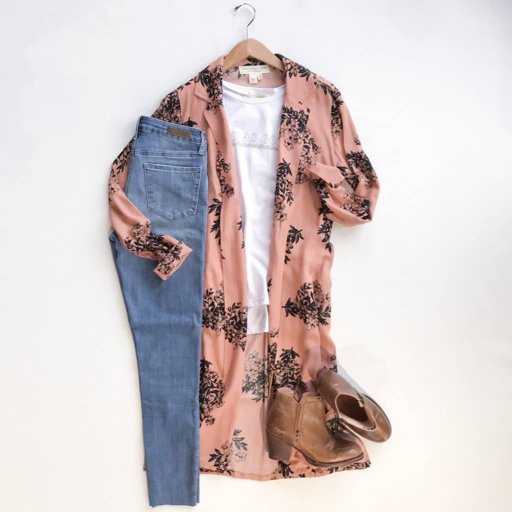 Rose Duster Robe