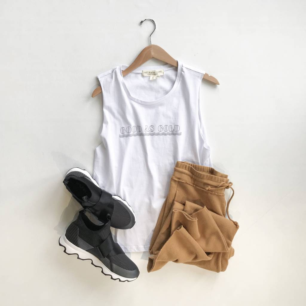 Good as Gold Muscle Tank