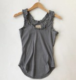 ruffle racerback tank chaser brand