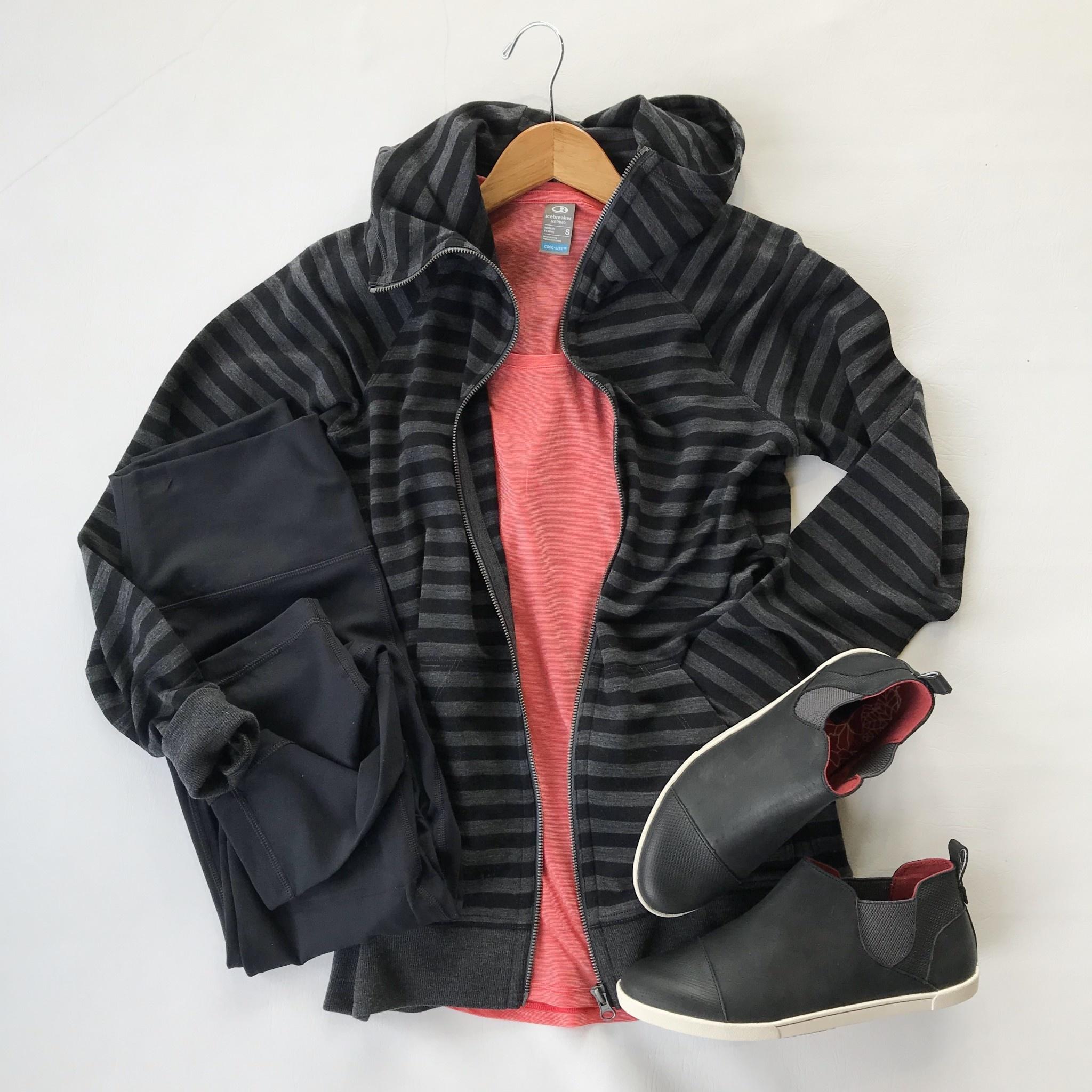 Icebreaker crush ls zip hood