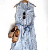 bella Dahl patch pocket shirt dress
