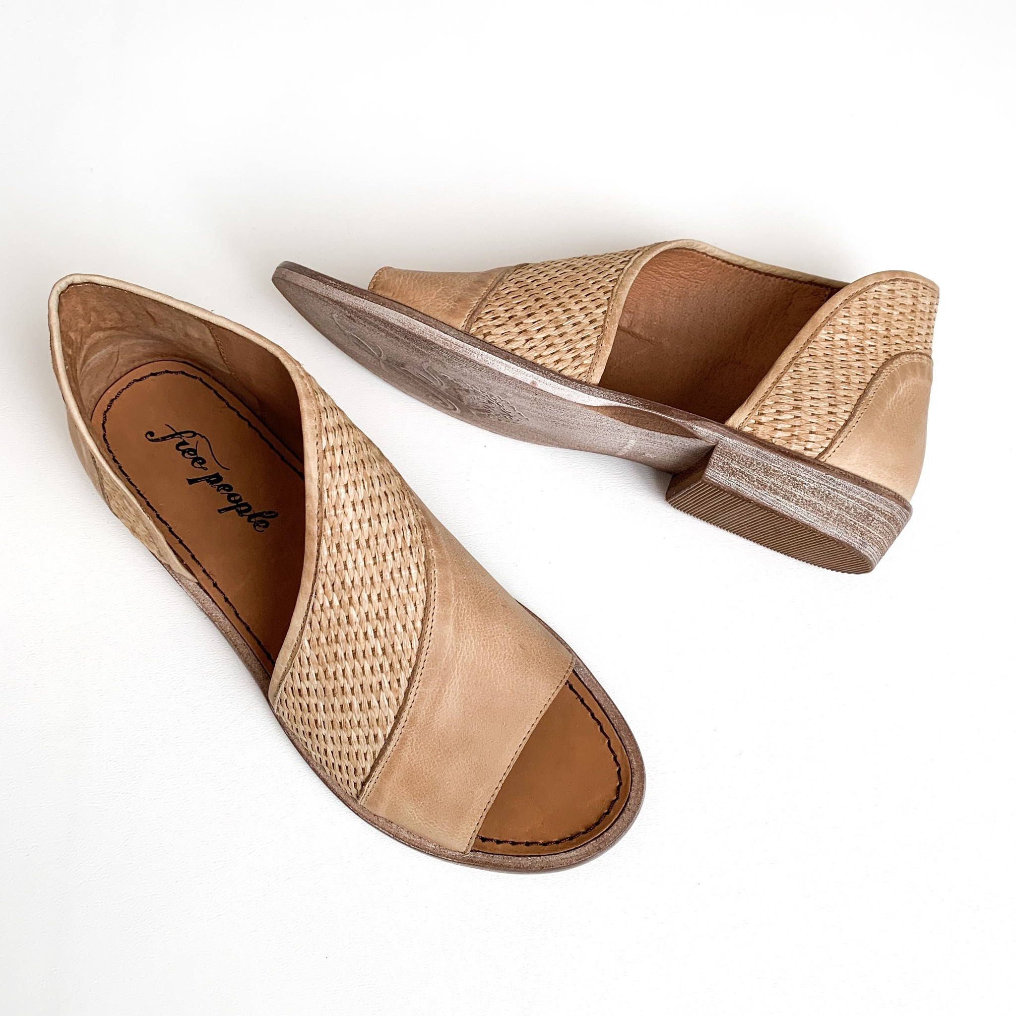 Free People textured mont blanc sandal