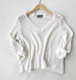 French lace Cotton Pullover