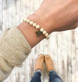 Lenny & Eva Faith Over Fear Cross Stretch Bracelet More Colors