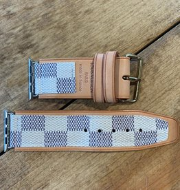 Upcycled 38 MM LV iwatch band
