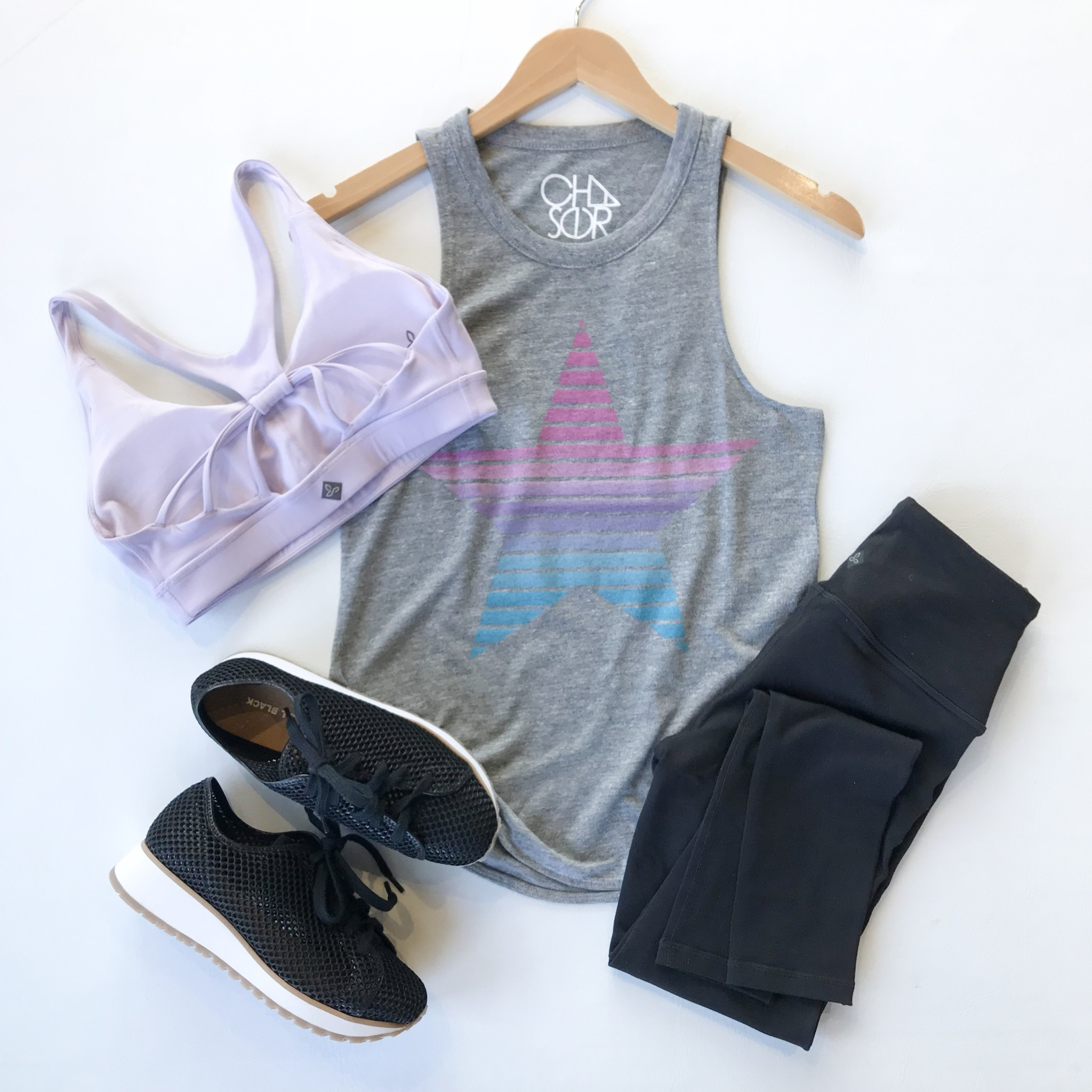 Star triblend basic muscle tank