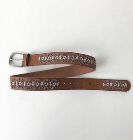 Lucky Brand Geo Beaded Belt