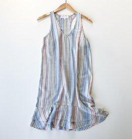 Bella Dahl ruffle tiered tank dress