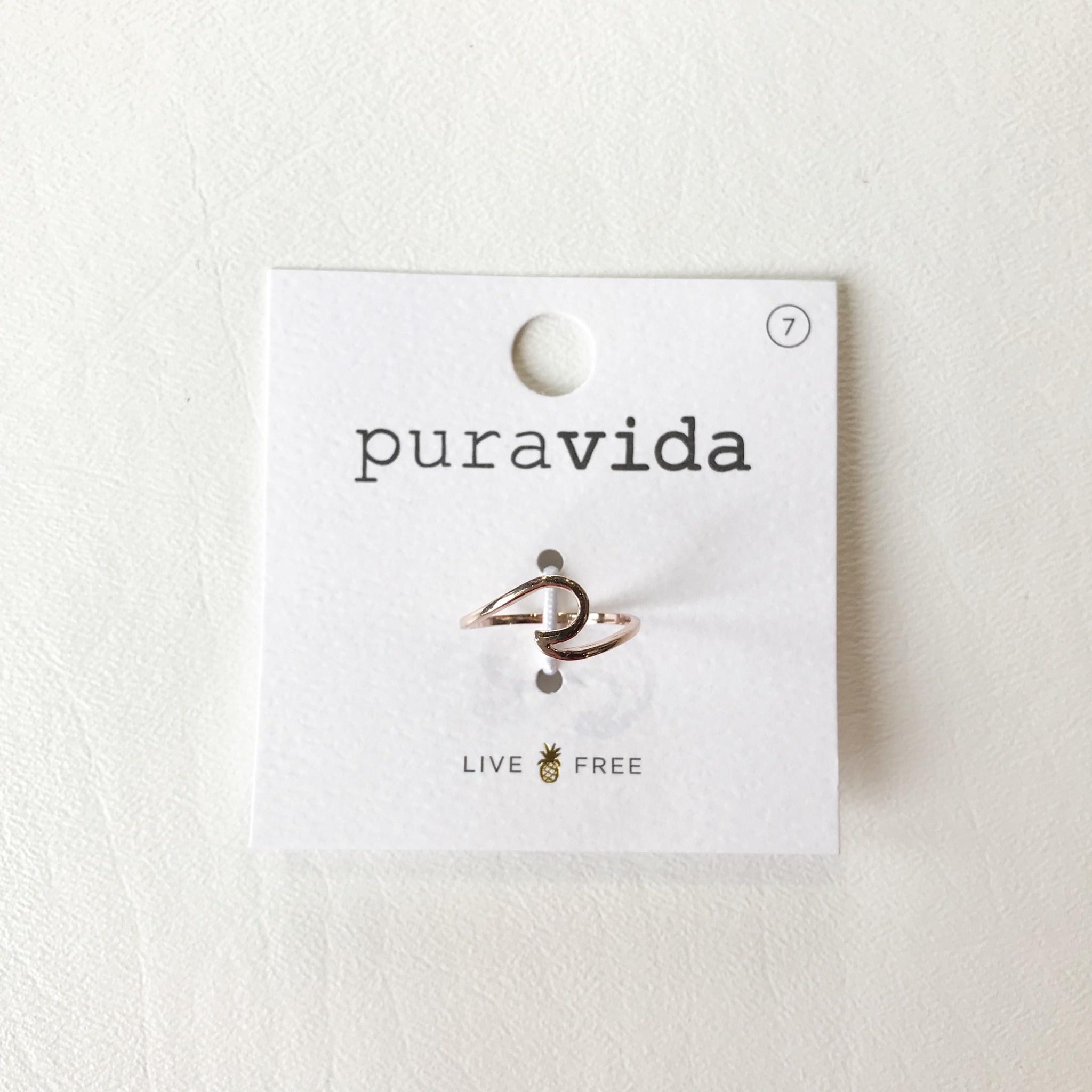 Puravida wave ring