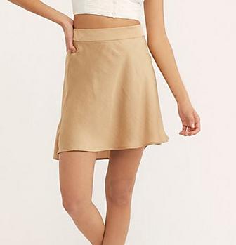 Free People phoebe  skirt