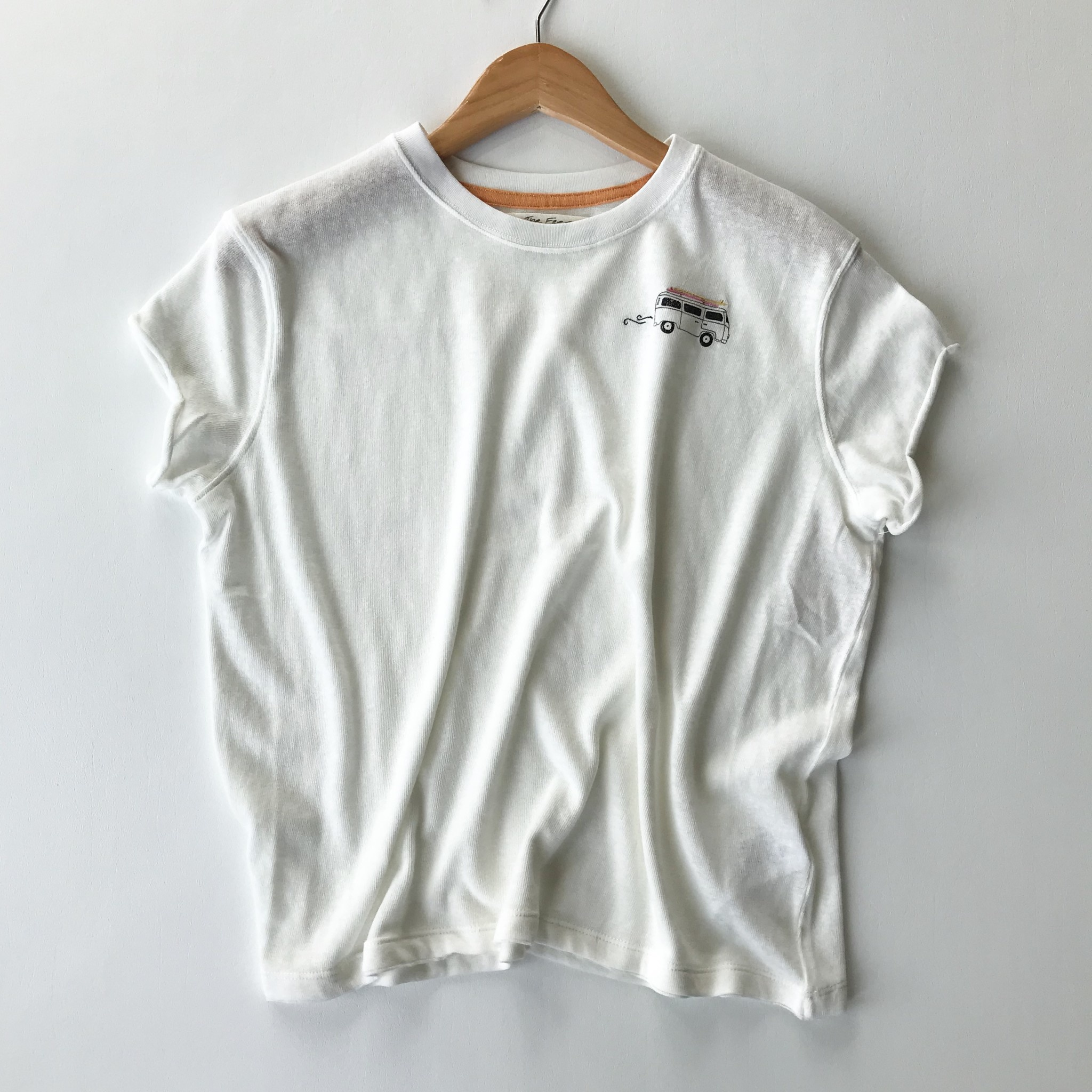Free People wipeout tee