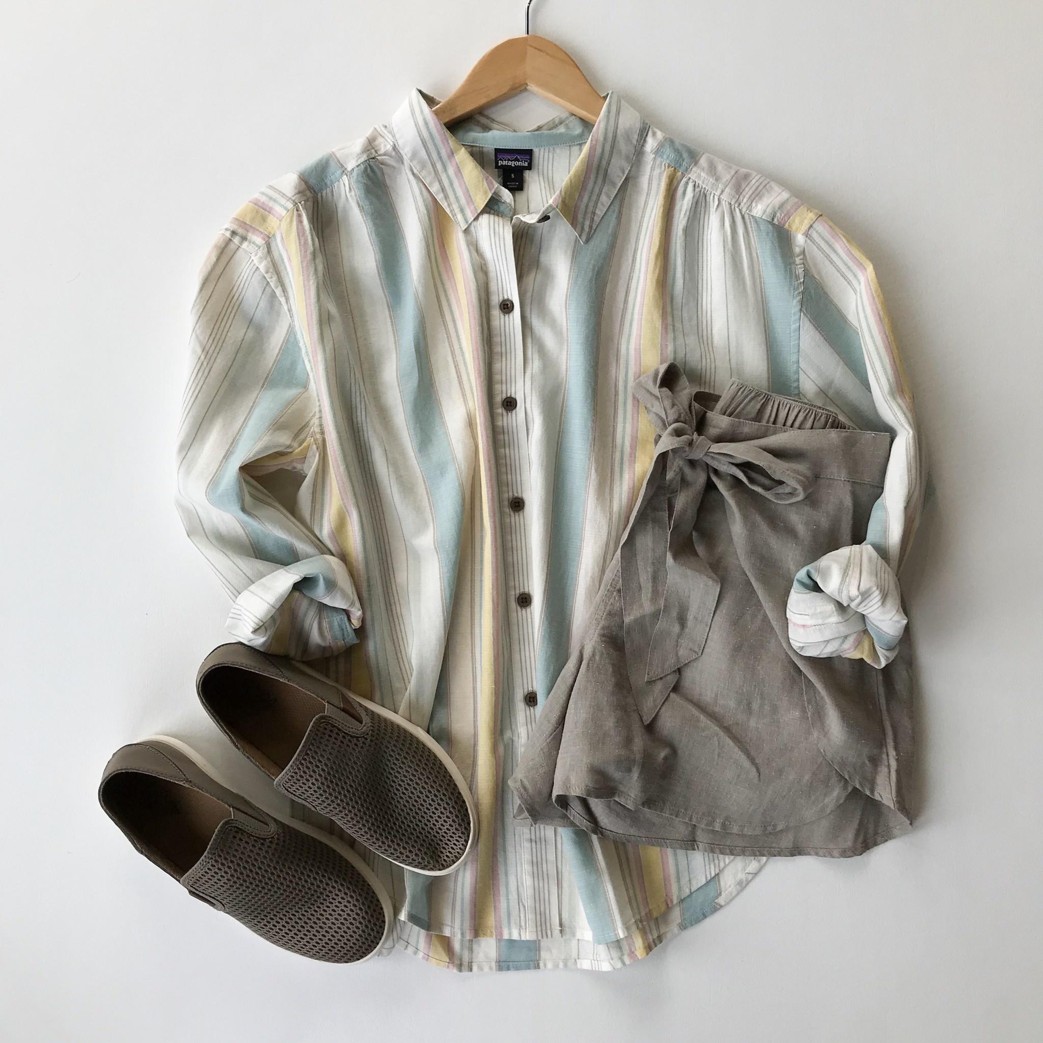 Patagonia a/c boyfriend shirt